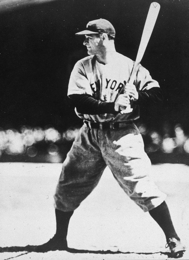 Lou Gehrig Hit a record 23 grand slams