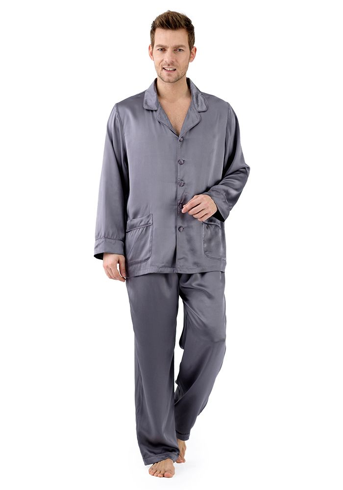 From the nightshirts of the past to decorated onesies, two piece pajamas and loungewear, we as men have a plethora of options available to us as nightwear. Types of Men's Pajamas In most cases, the defined mens pajama is the two piece garment consisting of a jacket and pants.