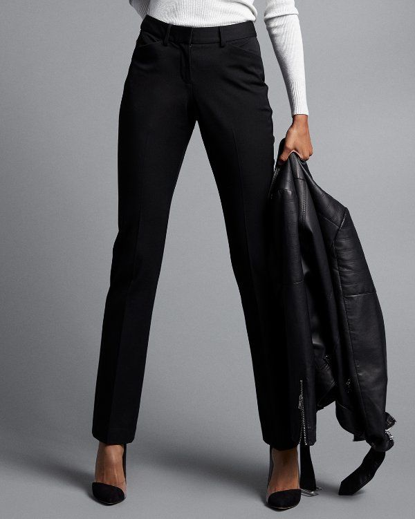Steal the show in our new Publicist pant that offers a crisp, tailored profile and a comfortable fit thanks to a fuller hip and thigh. Whether you're dressing for the office or date night, these pants give you the confidence to conquer the day.
