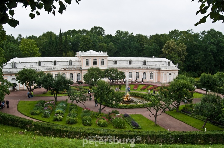 St.Petersburg, Peterhof fontains and palaces