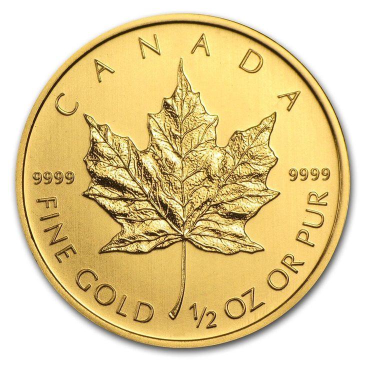 2013 1/2 Ounce Maple Leaf Gold Coin – ArtInCoins | goldankauf-haeger.de