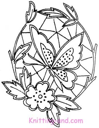 Free Embroidery Pattern: Cutwork Butterflies c1940