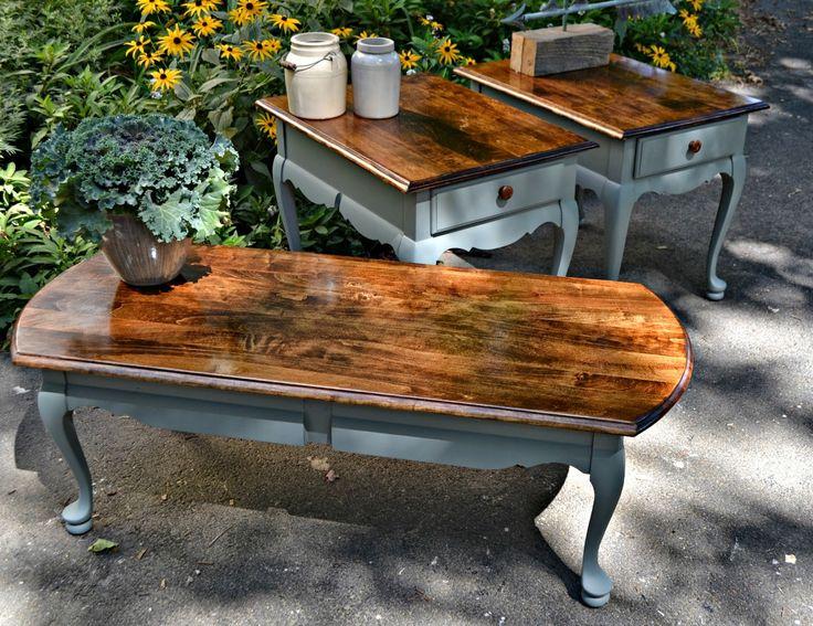 Heir And Space: Maple Farmhouse Coffee Table Set