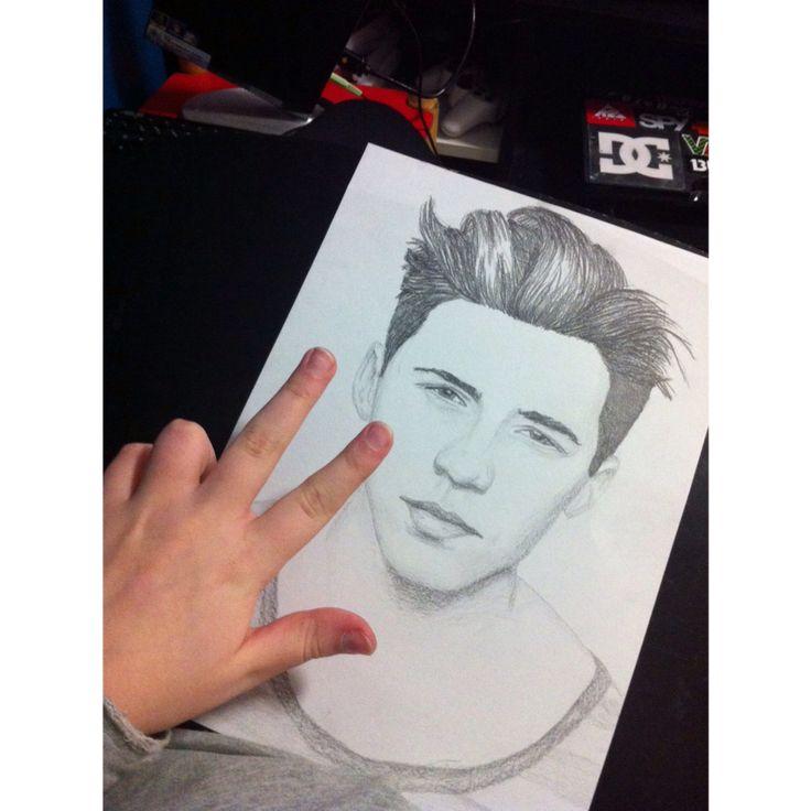 Brooklyn Beckham  Drawing