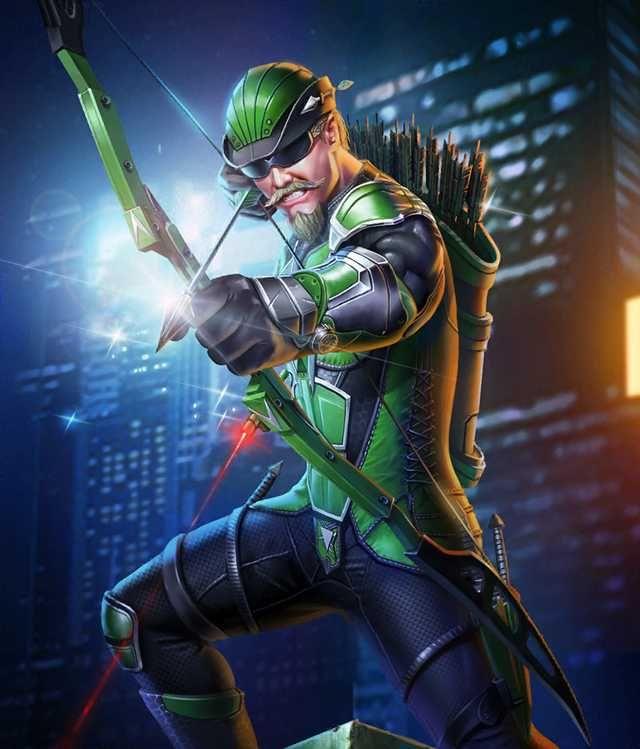 INJUSTICE 2. Green Arrow.