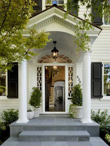 17 Best Images About Portico Ideas On Pinterest Traditional Columns And Decor