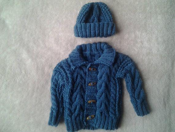irish boy sweaterbaby boy sweaterirish boy hatbaby by crochetfifi