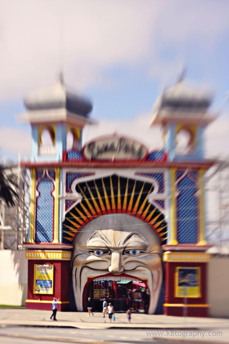 Luna Park, Melbourne #Lensbaby
