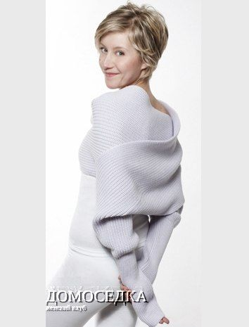Свитер+шарф «Sciarpone»   Sweater + scarf