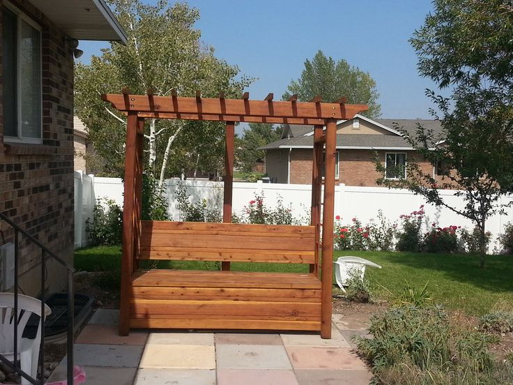 48 Best Images About Bench And Arbor On Pinterest Woodworking Plans Built Ins And Garden Arbor