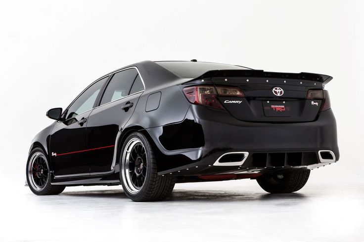 customized Toyota Camry 2012 photo - I talk about cars
