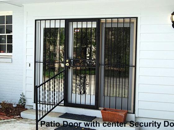 Glassessential patio door security gate http