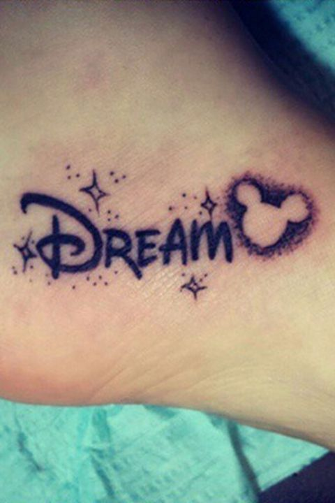 15 Disney Tattoos that are wonderfully magical – Mariana Smith- # Disney #Magical … – #MickeyMouseCharacters #MickeyMouseTattoo
