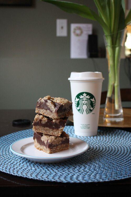 How to make Starbucks oat fudge bars