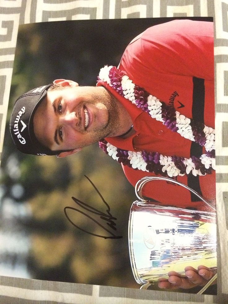 Patrick Reed Signed Pga Tour Golf 8 X 10 Photo Autographed