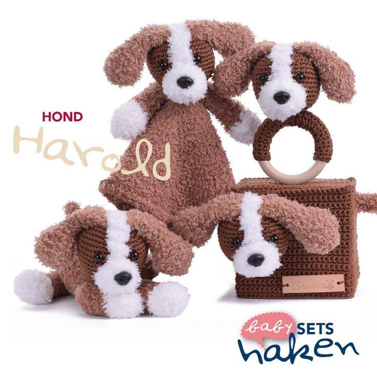 Patroon uit babysets haken - Hond Harold