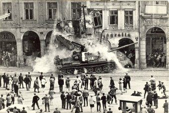 Prague Spring. August 1968