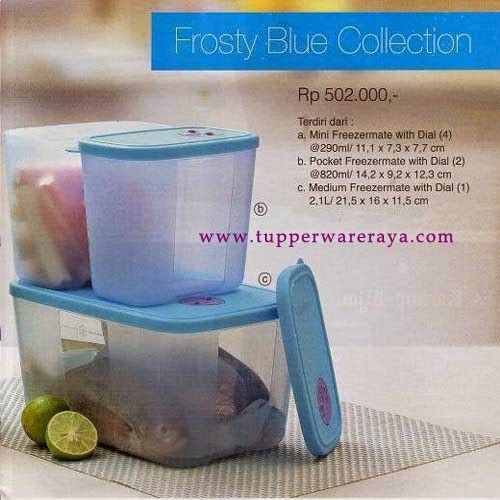 Promo Tupperware April 2014 - Frosty Blue Collection