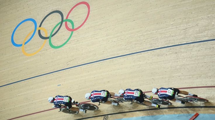USA Cycling sets the world record in W Team Pursuit only to be. Bested 5 minutes later by Team GB