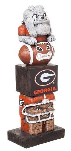 Georgia Bulldogs Tiki Totem