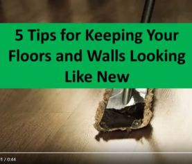 5 Cleaning Tips