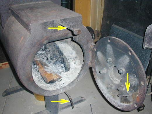 Sawdust Stoves Homemade ~ Best stoves smokers images on pinterest firewood