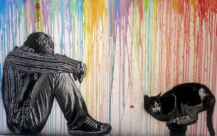 Jean-Francois Perroy alias Jef Aerosol - Are you an #artist ? Visit http://www.artystas.com #art #arte @artystascom