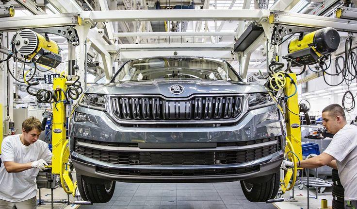 Ruszyła produkcja najbardziej wyczekiwanego SUVa https://www.moj-samochod.pl/Nowosci-motoryzacyjne/Ruszyla-produkcja-Skody-Kodiaq #Skoda #kodiaq #SkodaKodiaq #SUV #Kvasinach #produkcja #samochód