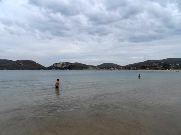 mar praia da ferradura buzios