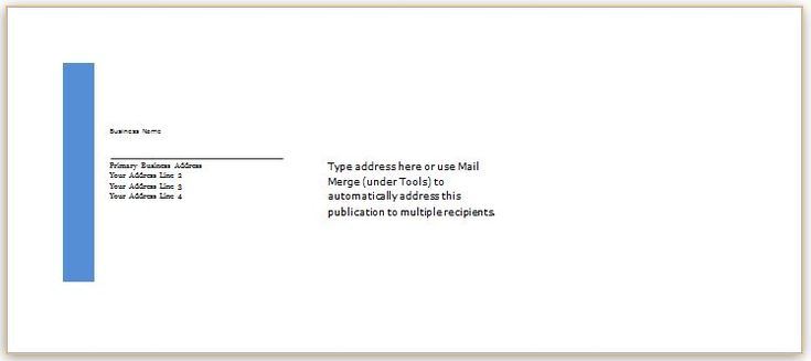 Envelope Template Design for MS Word DOWNLOAD at http\/\/www - petty cash voucher example