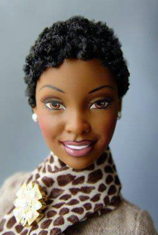 African American Barbie Dolls With Natural Hair
