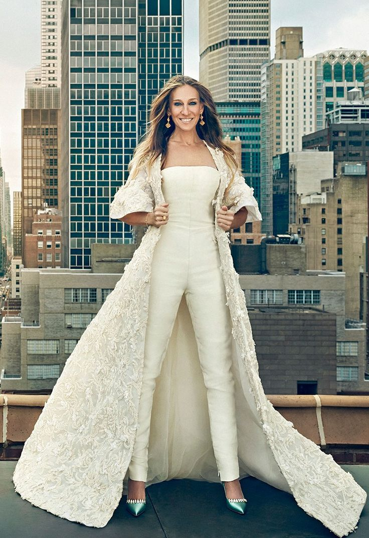 120 best images about everything carrie bradshaw on for Sarah jessica parker wedding dress
