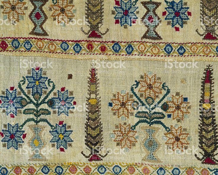 handmade embroidery royalty-free stock photo