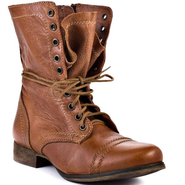 Steve Madden TroopaShoes, Cowboy Boots, Style, Madden Troopa, Troopa Boots, Steve Madden, Brown Boots, Tans Leather, Combat Boots