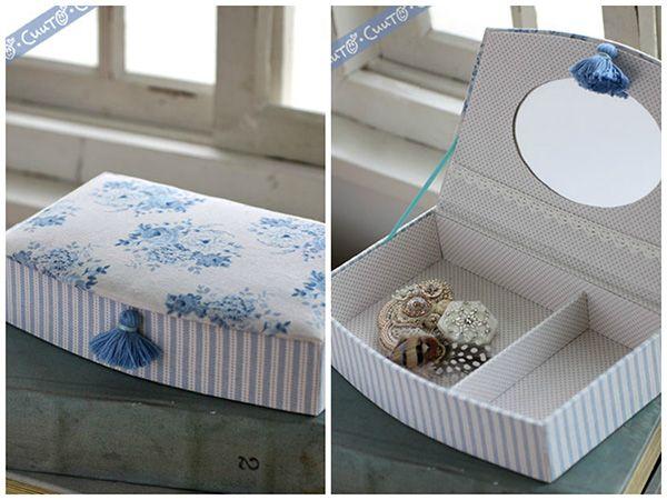 Handmade Tild Jewellrey Box