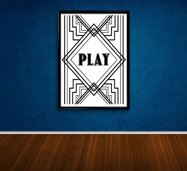 PLAY - Digital A4 printable stamp by AngesGemme on Etsy