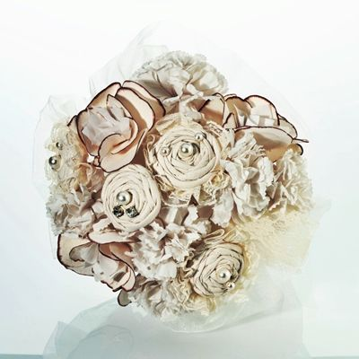 Cream-Colored Country Casual Bouquet