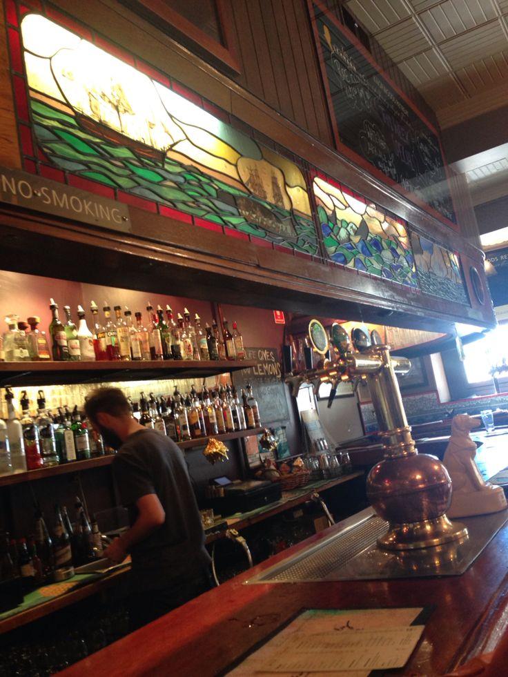 Irish Pub in Salamanca Market in Hobart / Tasmania