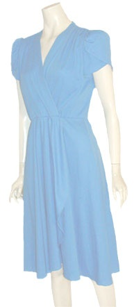 Alison Peters Blue 70s Dress