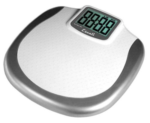 Escali Is An Extra Large Display Weight Scale Providing Absolutely Accurate  Weight Readings And Is A Perfect Bathroom Scale For Those Who Want To Step  Off ...