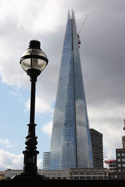 The Shard el edificio más alto de la UE
