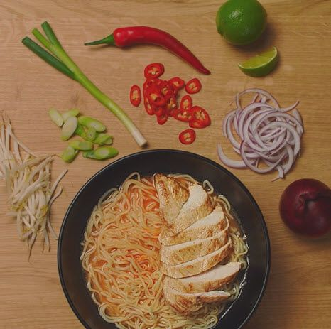 homemade chilli chicken ramen | recipes | wagamama