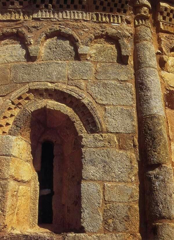 Ermita de San Pelayo.  Perazancas de Ojeda. Palencia.