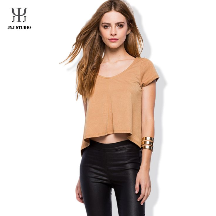 Aliexpress.com : Buy Summer Casual Loose Shirt Plus Size S xxl Blouses For Women Short Sleeve O neck Polyester Pure Color T shirt Fashion Clothing from Reliable shirt barcelona suppliers on JYJ STUDIO