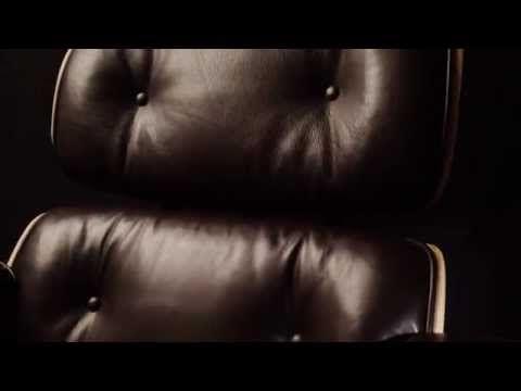 Кресло Eames Lounge Chair & Ottoman (черная кожа/палисандр) - цена, фото, купить кресло Eames Lounge Chair в интернет-магазине ScottHoward.ru