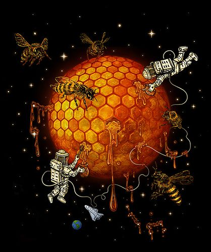 Killer space bees from Futurama, anyone?