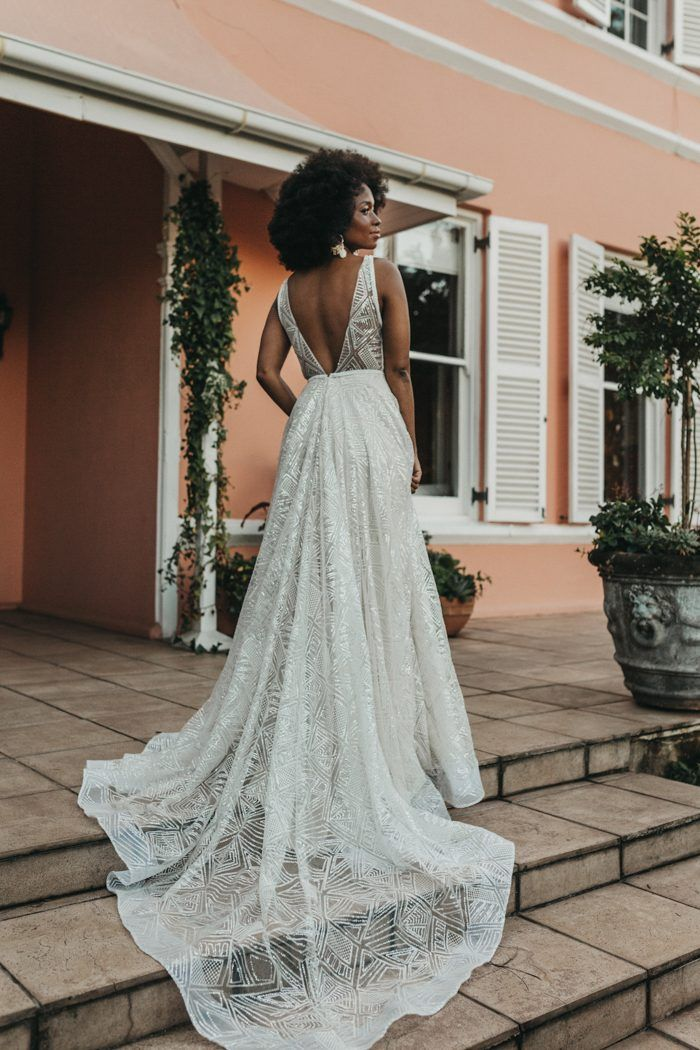 This stunning styled bridal shoot by Michigan Behn Photography showcased just a couple of gorgeously intricate wedding dresses by Jeannelle l'Amour Bridal