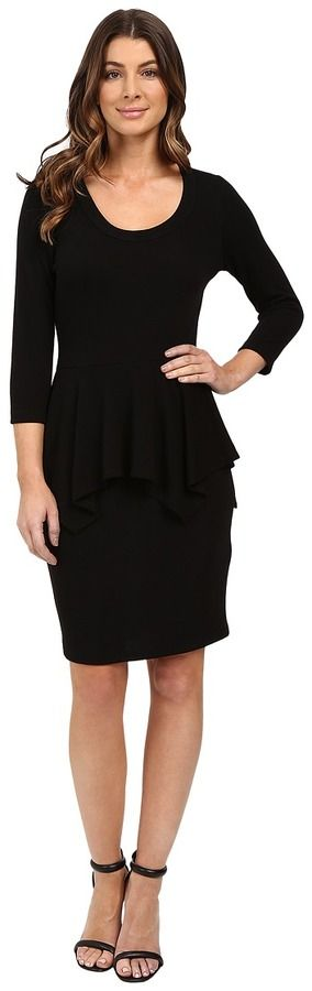 Karen Kane Peplum Sweater Dress