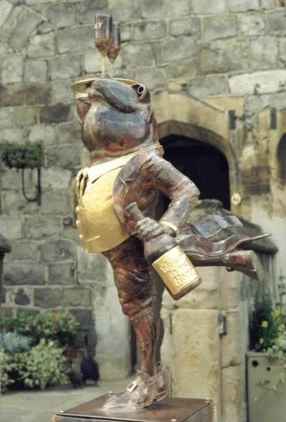 Mr. Toad, Windsor Castle: Private Garden, Restaurant, Windsor Castles, Frogs Ii