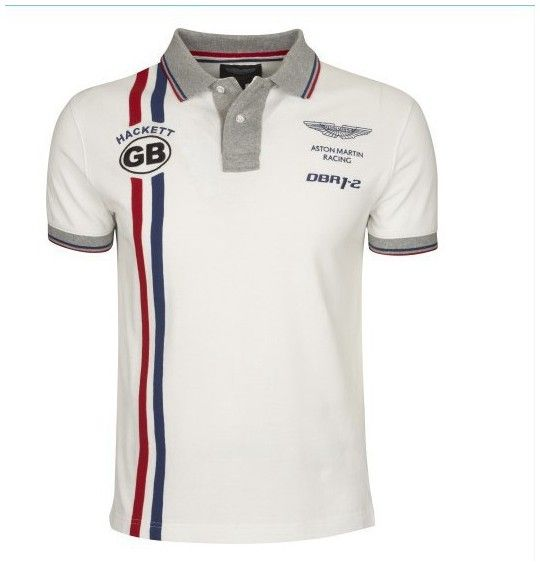 Hackett AMR TC Shldr Tp, Polo Homme, Blanc (White 800), LargeHackett
